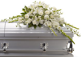 Bountiful Memories Casket Spray