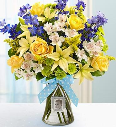 Sweet Baby Boy Arrangement